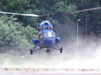 В Донбассе потерпел крушение вертолет Ми-2 ВСУ