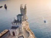 Видео дня. Украина показала к «Евровидению» Крым