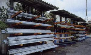 Правильное хранение металлопроката